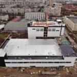 ООО «ФТК» завершает возведение каркаса здания для академии хоккея имения Валерия Харламова в Купчино.