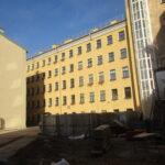 На Большой Разночинной завершилась реконструкция жилого дома