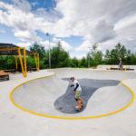 скейт-парк в буграх